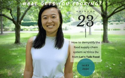 episode 23 – Learn about the food supply chain system with Erica from Let's Talk Food, a series of online events